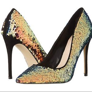 Aldo Size 6.5 sequin Pump